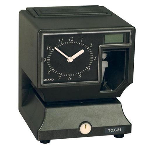 Amano Cincinnati TCX21 Electronic Time Recorder