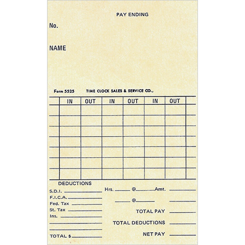5525-time-card
