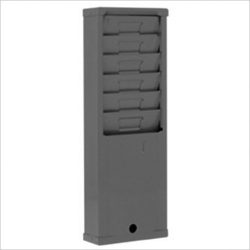 time-card-rack-176H-grey